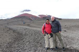 Nationalpark Cotopaxi - Zwei Vulkan Besucher