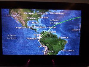 Flug von Madrid nach Quito