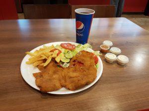 Quito - Das erste Abendessen in Ecuador