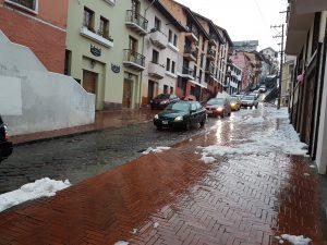 Quito - Eis, Schnee und Regen