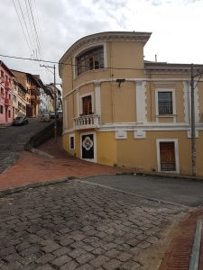 Quito - Lokation des Casa Gardenia