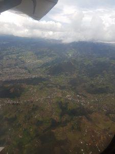 Flug von Quito nach Cuenca