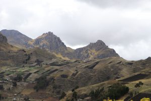 Fahrt nach Quilotoa