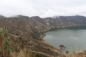 Quilotoa Vulkan und Kratersee