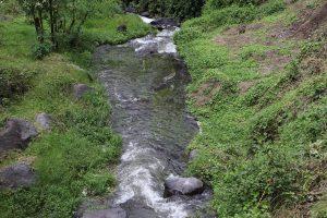 De Peguche Wasserfall