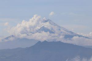 Quito - Cruz Loma, der Cotopaxi