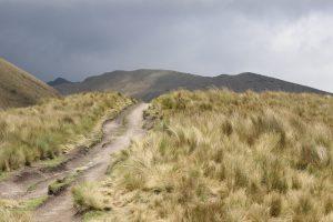 Quito - Cruz Loma, Wanderung