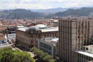 Cuenca – Ausblick von der Kathedrale / Catedral de la Inmaculada Concepción