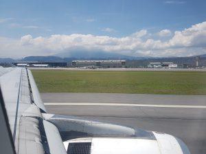 Quito - Landung auf dem Flughafen von Quito