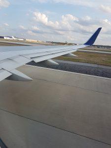 Flug von Atlanta nach San Jose – Der Start