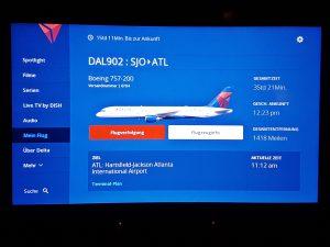 Flug von San Jose nach Atlanta