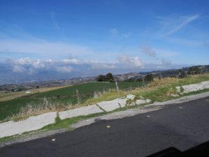 Fahrt zum Irazu Vulkan