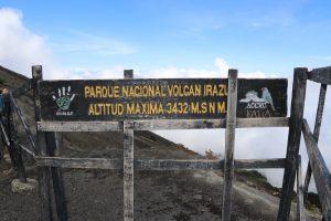 Irazu Vulkan - Der höchste Aussichtspunkt