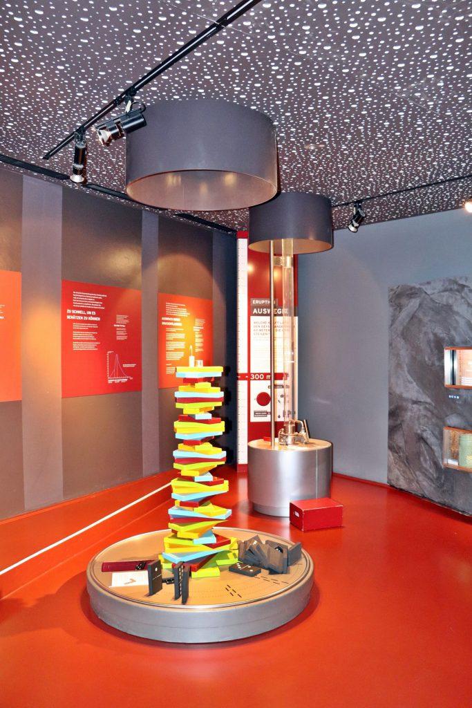 Geysir Andernach Besucherzentrum - Besichtigung