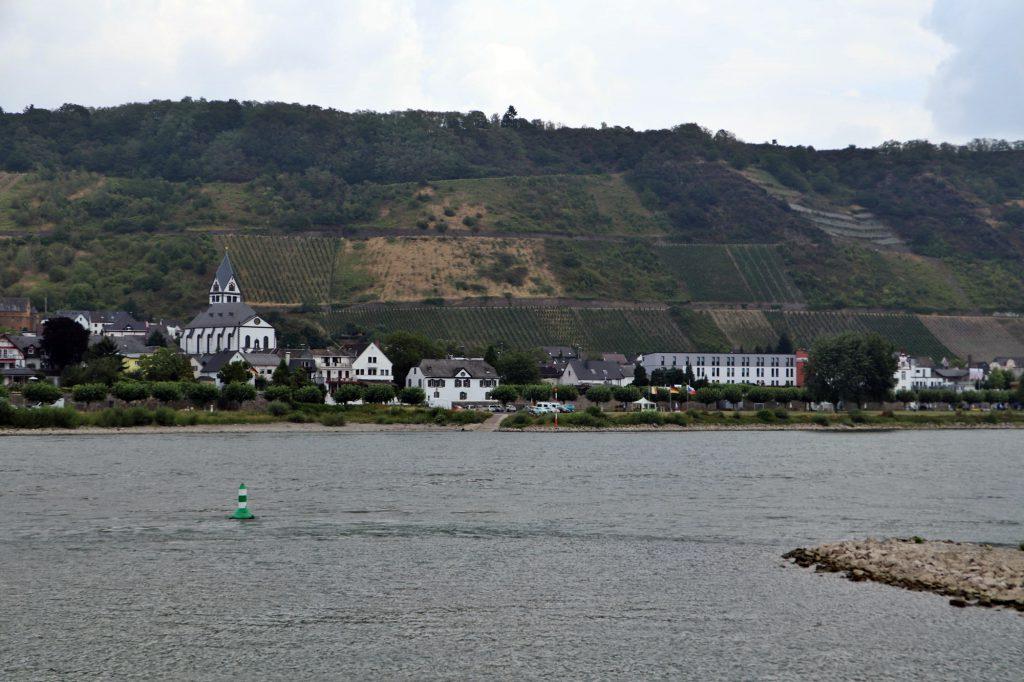 Namedyer Werth - Geysir Andernach, Rückfahrt nach Andernach
