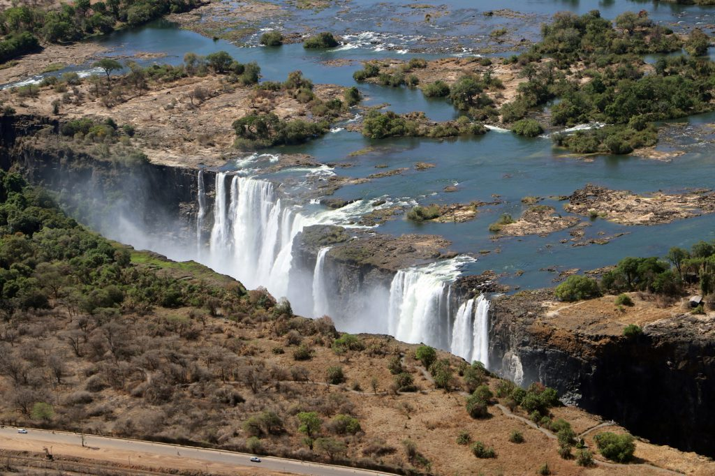 Simbabwe - Victoria Falls Rundflug, 23.11.2019