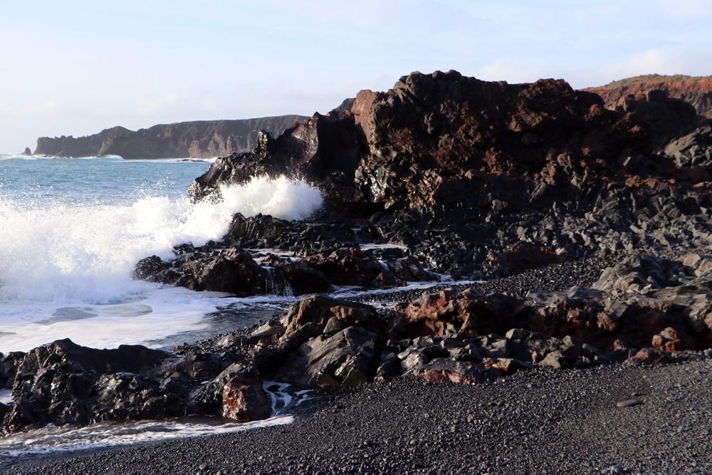 Island -  Djupalonssandur /Vulkan Strand, 17..02.2020