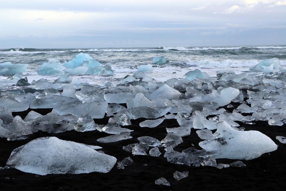 Island - Diamond Beach, 18..02.2020